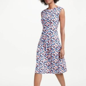 NWT Boden Marina Dress Floral Polly Size 8